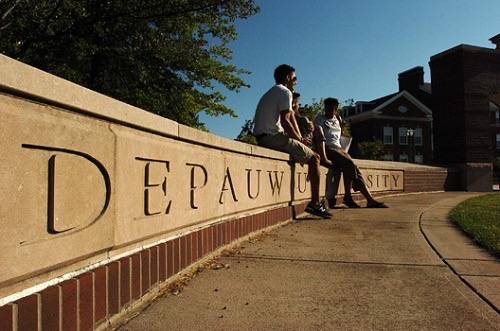 20. DePauw University - Greencastle, Indiana