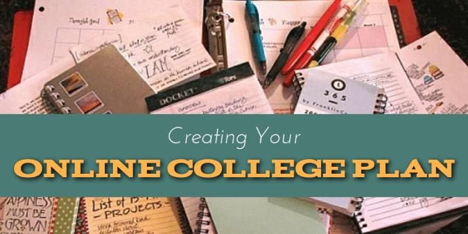 online college plan