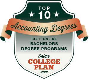 Top 10 Online Bachelor's Degrees in Accounting