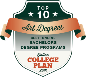 Top 10 Online Bachelor's Degrees in Art