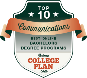 Top 10 Online Bachelor's Degrees in Communications