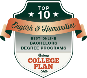 Top 10 Online Bachelor's Degrees in English and Humanities