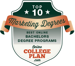 Top 10 Online Bachelor's Degrees in Marketing