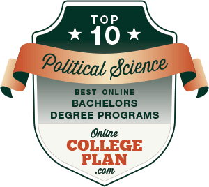 Top 10 Online Bachelor's Degrees in Political Science
