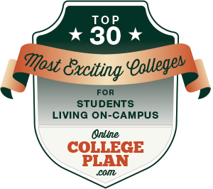 Top 30 Exciting Colleges Where Students Live on Campus