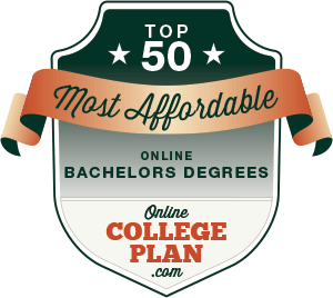 Top 50 Most Affordable Online Bachelor's Degrees
