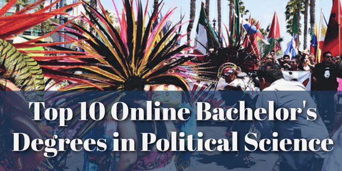 online bachelor's degrees in Political Science