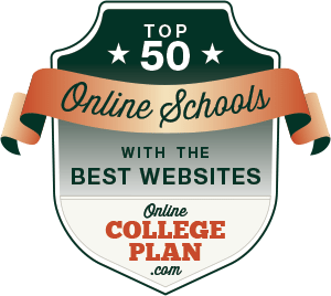 Top 50 Online Colleges with the Best Websites