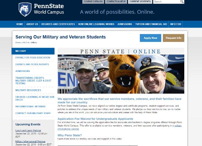 Pennsylvania State University - Worldwide