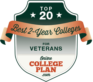 Top 20 Best 2-Year College for Veterans