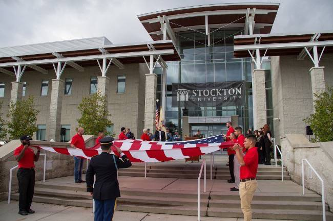 Stockton U Veteran's Day