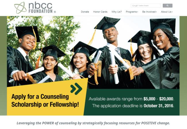NBCCF Military Scholarship