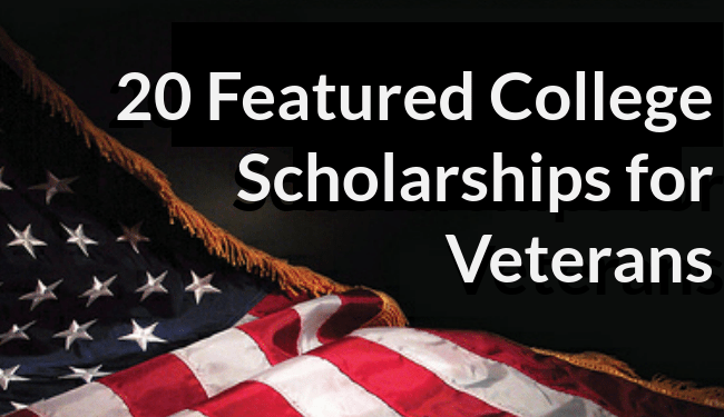 college scholarships veterans