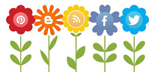 online presence social media