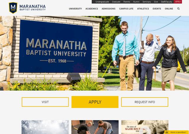Maranatha Baptist University