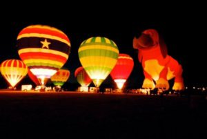 balloons over Anderson