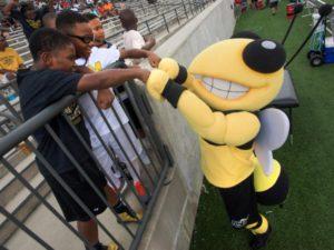 ASU Hornets Mascot