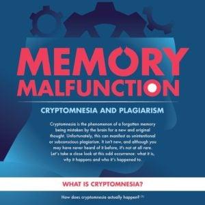 Cryptomnesia and Plagiarism