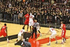 northeastern varsity basketball