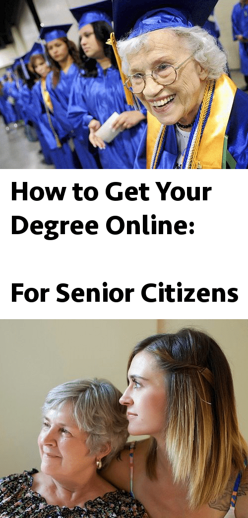 how to get your degree online for senior citizens online college plan