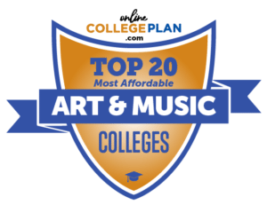 Top 20 Most Affordable Colleges for Art & Music