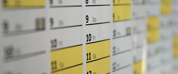 Why is an AP test schedule important?