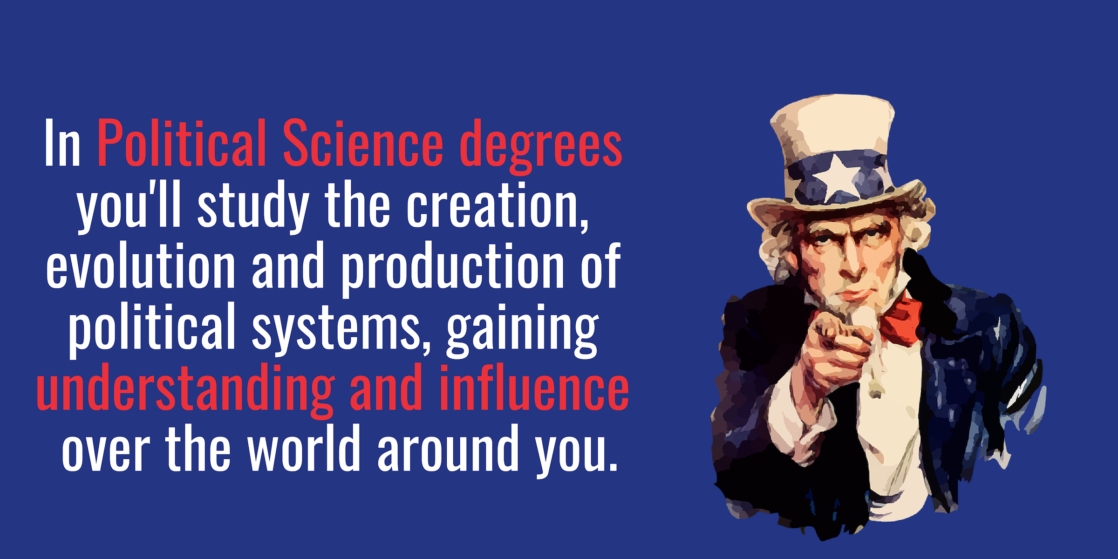 Political science degrees
