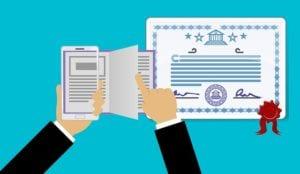 certification, accreditation, degree, diploma