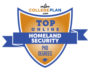 online phd programs, online phd in homeland security, homeland security degree, homeland security online degree