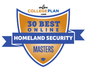 online masters in homeland security