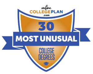 Most unusual college degrees