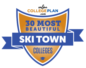 most beautiful ski town colleges
