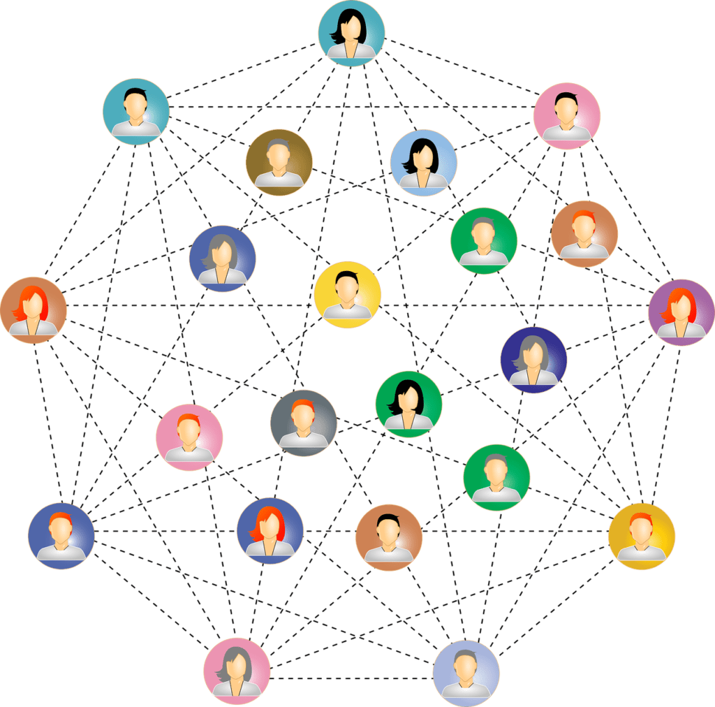 Connections, Communications, Social, Networking, Human