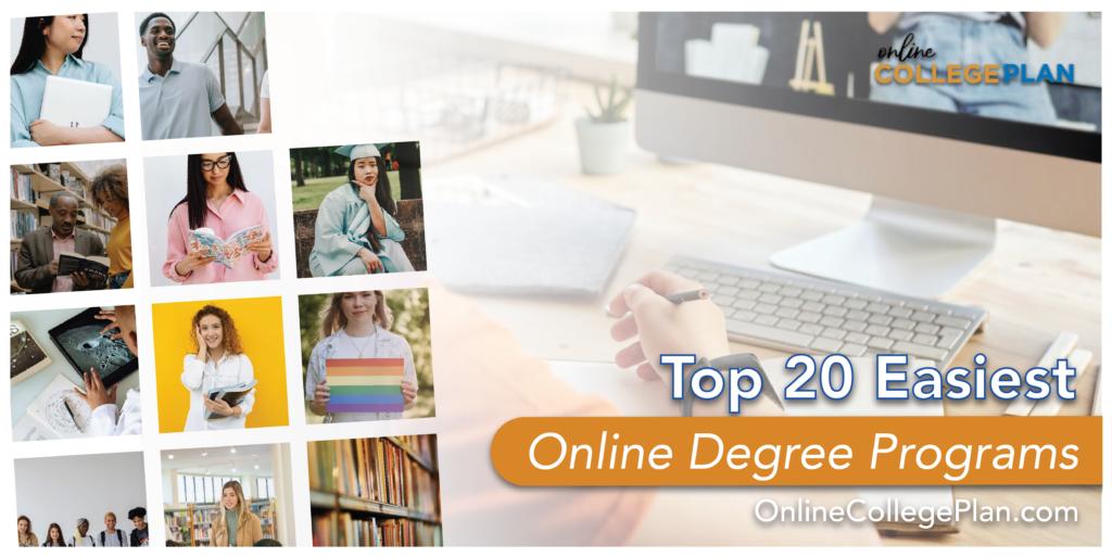 easiest online degree programs