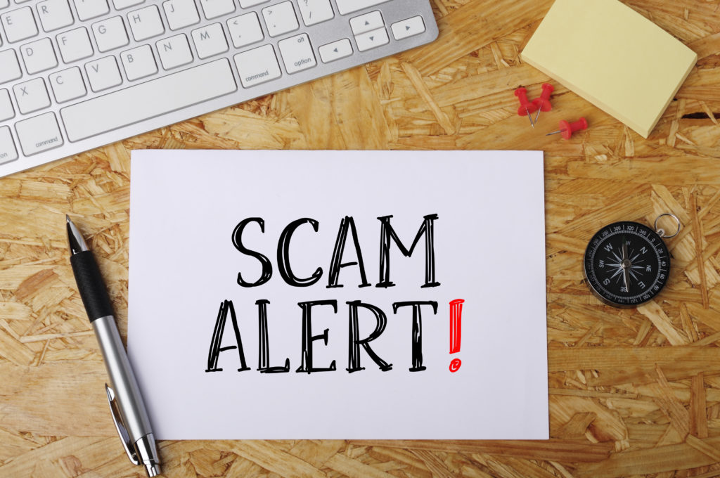 free laptop scams